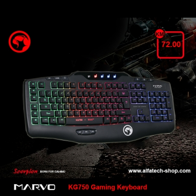 MARVO KG750 Gaming Keyboard