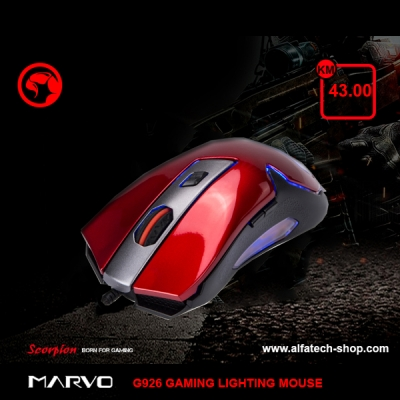 MARVO G926 GAMING LIGHTING MOUSE