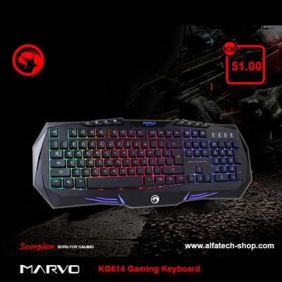 MARVO KG614 Gaming Keyboard